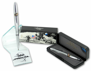 Fisher Space NASA Bullet Pen - Chrome