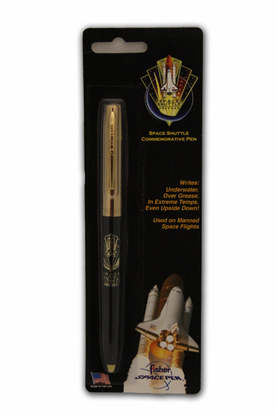 Fisher Space Pen - Shuttle Program Commemorative - Black