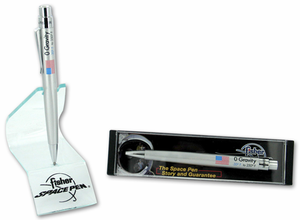 Fisher Zero Gravity Pen - Silver