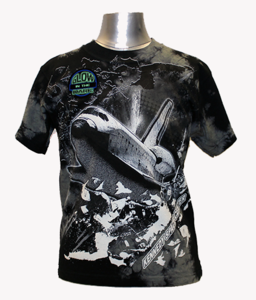 Glow in the Dark Space Shuttle Tee