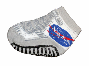 Infant Moon Boot Socks Gray