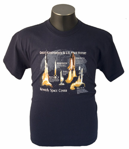 Great Achievements In U.S. Space History Youth T-Shirt