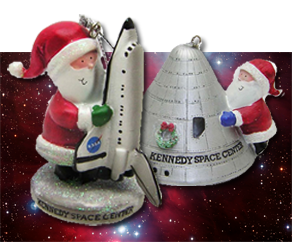 Holiday Space Ornaments