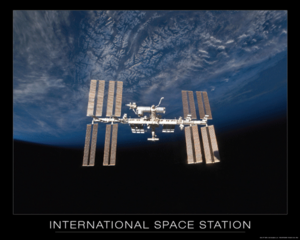 International <br>Space Station Poster
