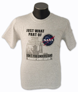 Kids T-Shirt Its Only Rocket Science Gray