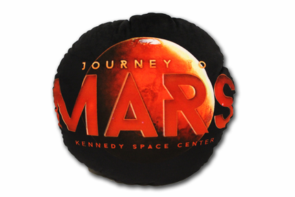 Journey to Mars - Throw Pillow