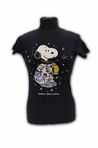 Junior T-Shirt - Snoopy Galaxy - Navy