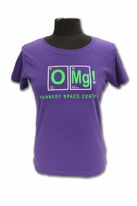 Kennedy Space Center OMG T-Shirt - Assorted Colors