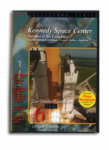 Kennedy Space Center Six Language DVD