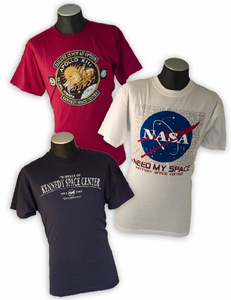 Mens T-Shirt 3 Pack Kennedy Space Center Stacker