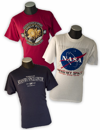 Mens T-Shirt 3 Pack - Kennedy Space Center Stacker
