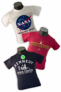Kennedy Space Center Youth Shirt Stacker Set