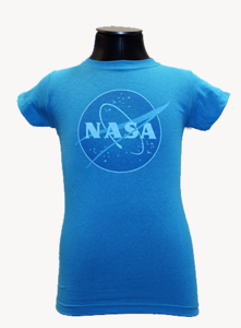 Kids NASA Tee - Blue