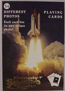 KSC Shuttle Playing Cards