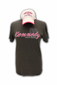 Ladies Hat and Tee Combo - KSC Established - Grey