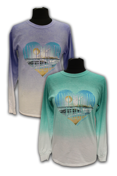 Women's Long Sleeve T-Shirt - Fly Me to the Moon - Assorted Colors