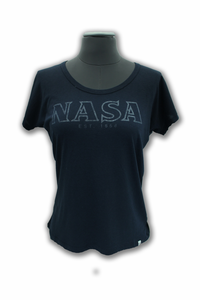 Ladies NASA EST. 1958 T-Shirt - Navy