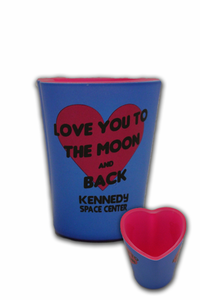 Love You To The Moon Shot Glass - Assorted Colors