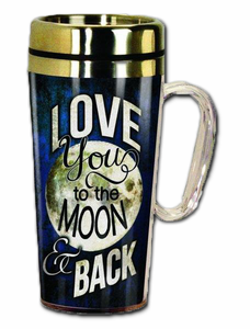 Love You To The Moon Travel Mug