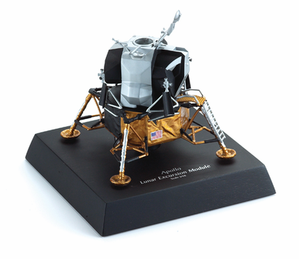 Lunar Excursion Module with Stand