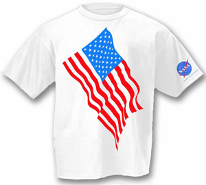 American Flag T-Shirt - White