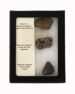 Meteorite Fragment 3 Pack Collection