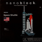 Nanoblock Space Shuttle Building Set