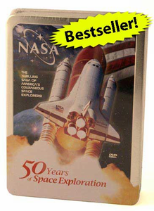 NASA 50 Years of Space Exploration - DVD