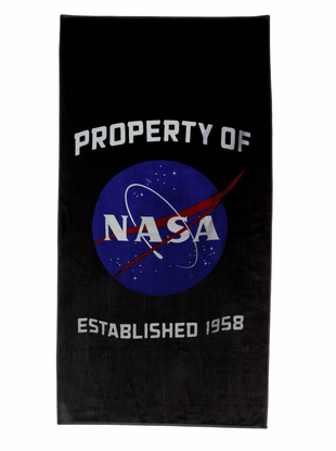 NASA Beach Towel - Navy