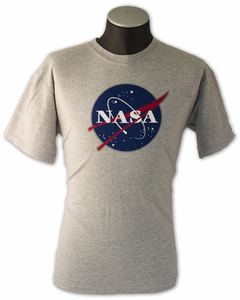 NASA Logo - Tee Shirt - Grey