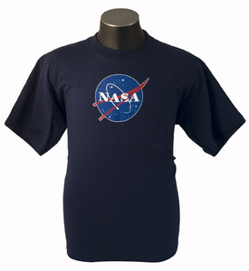 NASA Meat Ball Logo T-Shirt