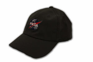Mens Hat - American Needle NASA Meatball Dome - Charcoal