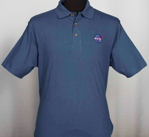 NASA Meatball Mens Polo - Navy