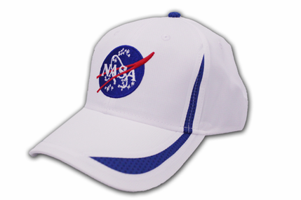 NASA Meatball Microfiber Hat - White