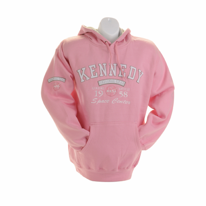 Womens Sweatshirt - NASA Original Gear 1958 - Pink