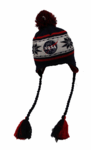 New Era NASA Snowflake with Tassels Hat - Red, White and Blue