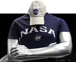 *NEW ITEM* Men's NASA Hat and Tee Combo - Navy