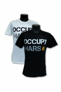 Mens Occupy Mars T-Shirt - Assorted Colors