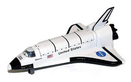 Space Shuttle Pullback Toy