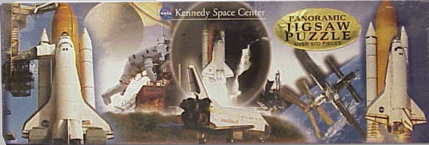 Panoramic Puzzle <br>Kennedy Space Center