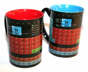 Periodic Table Mug - Assorted Colors