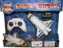 Radio Controlled Space Shuttle Toy