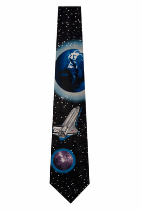 Shuttle, Earth and Moon Tie