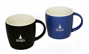 *NEW ITEM* Shuttle Over NASA Mug - Assorted Colors