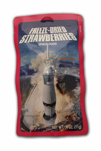 Space Food - Freeze Dried Strawberries