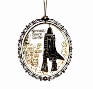 Space Shuttle Blast-Off Ornament