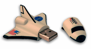 Space Shuttle Orbiter Flash Drive - 4 Gigabyte