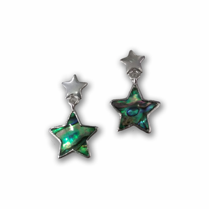 Stars Abalone Earrings
