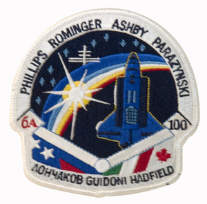 STS-100 Space Shuttle Endeavour