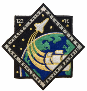 STS-122 Space Shuttle Atlantis<br>